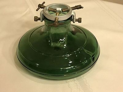 Glass Aluminum Christmas Tree Stand 1930-40's Bulach Switzerland