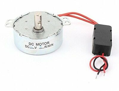Sourcingmap DC 12V 3RPM Fan Speed Reducer Micro Brushless CW/CCW Synchronous