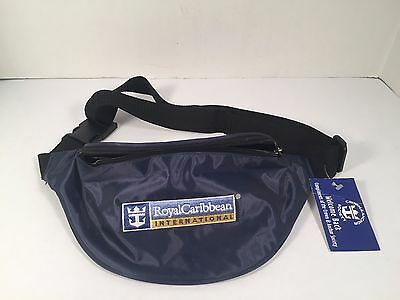 Royal Caribbean Bag Fanny Pack Fannie Adjustable Strap Waist Blue Cruise