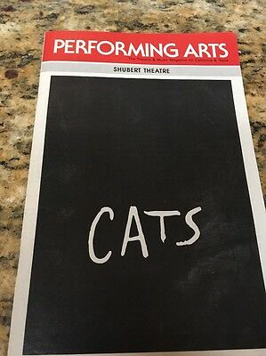 Performing Arts Mag. CA  Shubert Theatre, CATS AUGUST 1986