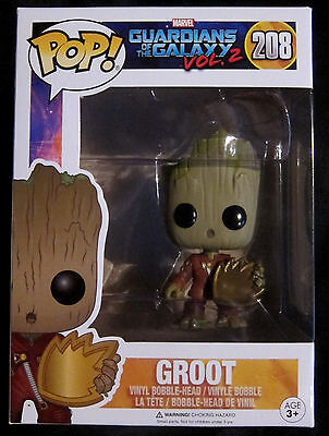 GUARDIANS OF THE GALAXY Young Groot with Shield - Funko Pop! - Limited
