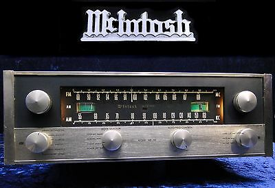 Röhren Tuner McIntosh MR-66 & MA-5 Multiplex Stereo Adapter Vintage Tube Radio