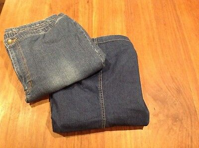 Maternity Bundle Size 12, Denim Skirt, Jeans