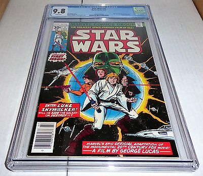 Star Wars #1 CGC Universal Grade Marvel Comic 9.8 White Pages Part 1 A New Hope