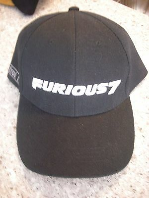Furious 7 Hat Castrol Oil Promo Movie Release Fast and Furious Universal Studios
