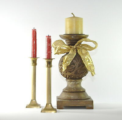 Fabulous Large Imperial Style Tall Candle Holder Candle Stick