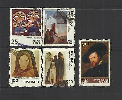 Republic Of India ~ 1976 - 1978 (Near Complete Issues - Mint & Used)