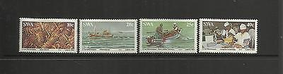 Swa South West Africa ( Namibia ) ~ 1983 The Lobster Industry (Set Mh)