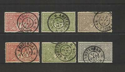 Netherlands ~ 1906 Society For The Prevention Of Tuberculosis (Used Set)