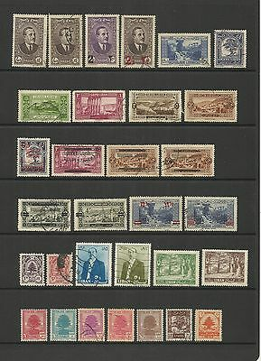 Lebanon ~ Small Collection Of Early Issues