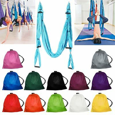 Fly Yoga Swing Sling Hammock Trapeze Anti-Gravity Inversion Pilates Tool Hanging