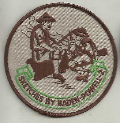 Sketches By Baden Powell -2 Boy Scouts Patch
