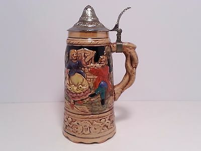 Beer Stein German Music Swiss Musical Antique mug - Imported by Steinberg