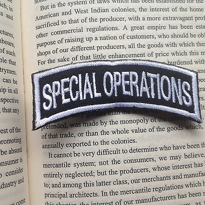 Special Operationas Tactical Military Usa Army Isaf Morale Badge Swat Patch