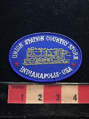 Indianapolis Indiana Union Country Store Train Indiana Patch 73WM