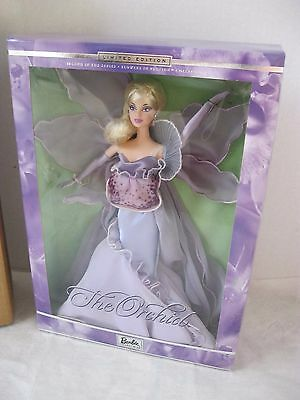 THE ORCHID BARBIE DOLL From Flowers in Fashion Collection- 2000-New-NRFB