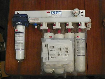 3M CONA INDUSTRIAL  BEVERAGE WATER FILTER SYSTEM ONE 40,000 Gal. NIB DIRECTIONS