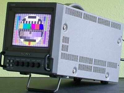 "SONY color MONITOR 6"" PWM-6041QM ATV amateur television"