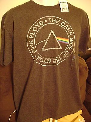 PINK FLOYD  T-SHIRT-LARGE-NWTS!  OFFICIAL/ DARK SIDE of the MOON-ROCK SHIRT