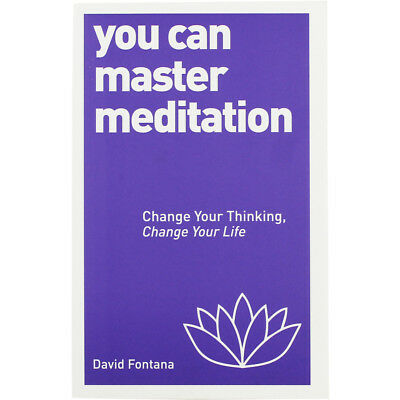 You Can Master Meditation by David Fontana (Paperback), Non Fiction Books, New