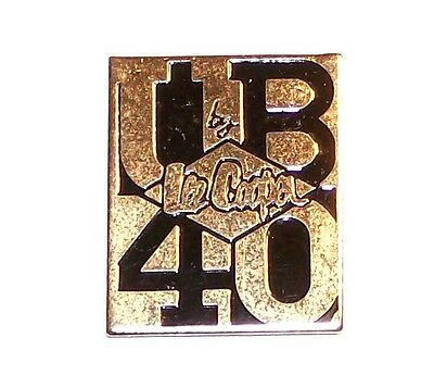 Vintage Jeans & Rock Band Advertising Gold Tone Lapel Pin Ub 40 By Lee Cooper