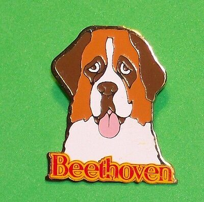 Beethoven St-Bernard Dog The Movie 1992 Family Comedy Film Metal Lapel Pin