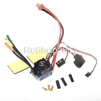 Hobbypower Racing 60A Brushless Speed Controller ESC for RC 1/10 1/12 Car AU