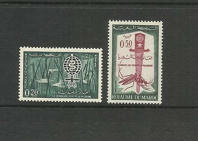 Morocco ~ 1962 Malaria Eradication Campaign (Mint Set)