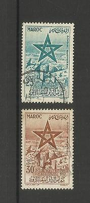Morocco ~ 1957 International Fair Casablanca ~ Air Mail (Used Part Set)