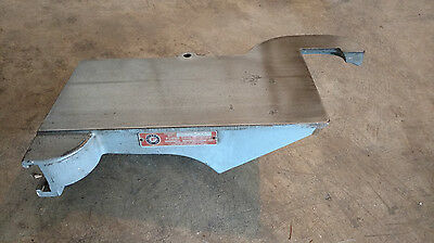 """Vintage Delta Rockwell 6"""" Jointer Cast Iron Front Table Top NJ202-A"""