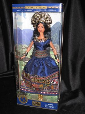 2001 PRINCESS OF THE INCAS Barbie Doll Collector Edition DOTW #28373 NRFB