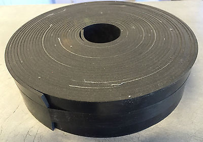 Natural Rubber Insertion Strip 50MM wide x 3.0mm thick (10 mtr roll)