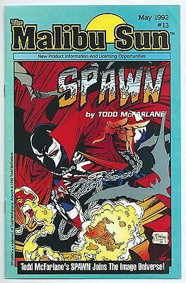 **MALIBU SUN #13**(MAY 1992, IMAGE)**RARE 1ST APP. OF SPAWN**McFARLANE**FN+**WOW