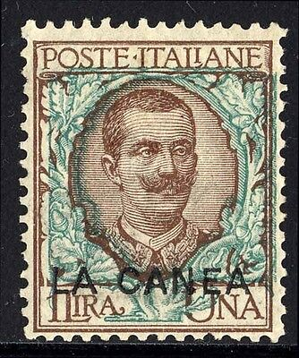 Italy Offices in Crete Sc. 12, 1906 1L King Victor Emmanuel III issue, LH, F-VF.