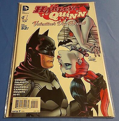Harley Quinn Valentine's Day Special #1 Amanda Conner NM DC Comics Uncertified