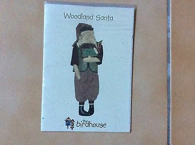 "DOLL PATTERN "" WOODLAND SANTA"" by THE BIRDHOUSE"