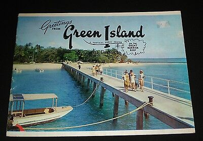 1960s VINTAGE GREEN ISLAND & CAIRNS TOURISM BOOKLET Great Barrier Reef