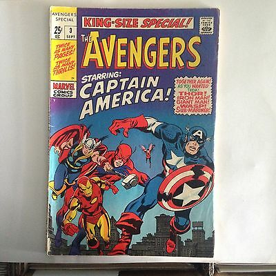 Avengers King Size Special #3 (1969) VG+