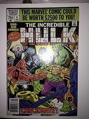 The Incredible Hulk Annual #9 (Sep 1980, Marvel)