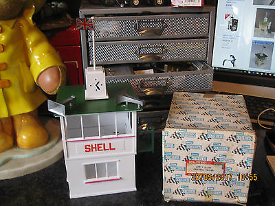 Vintage Scalextric Tri-Ang Control Tower A/208 Boxed Vgc