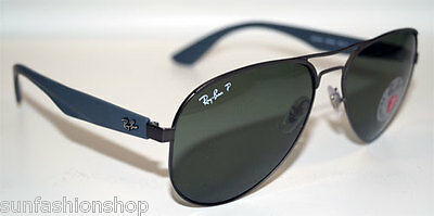 RAY BAN Sonnenbrille Sunglasses RB 3523 029/9A Gr.59 polarized