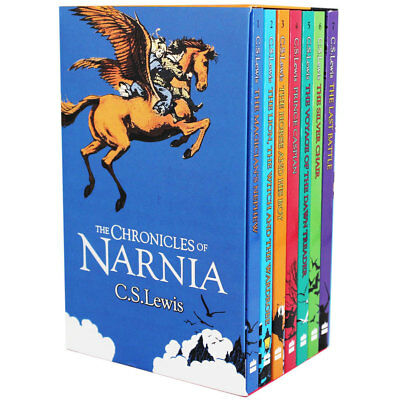 The Chronicles Of Narnia - 7 Book Box Set by C.S. Lewis (Paperback), Books, New