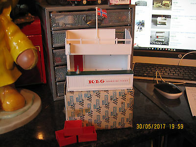 Vintage Scalextric Tri-Ang Owners Stand And Pit A/203 No2  Boxed Vgc