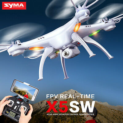 2017 New SYMA X5SW-1 RC Quadcopter Drone FPV Wifi Camera Helicopter Headless