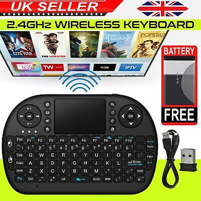 New 2.4G Wireless Air Keyboard USB Mini Keypad for HDTV PC XBMC Android TV Box