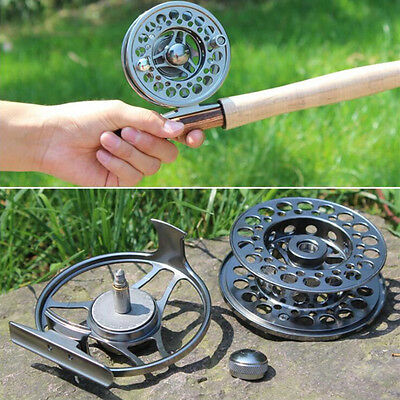 Aluminum Fly Fishing Reel 7/8WT Left/Right Lightweight Solid Fly Fishing Reels