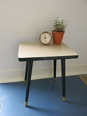 Vintage Mid Century Modernist East German Plant Table 20th Century Plant Stand