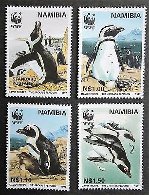Namibia (1997) WWF / Penguins / The Jackass Penguin  - Mint (MNH)
