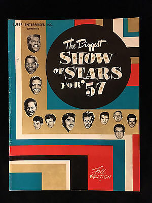 Buddy Holly-1957-Show Of Stars Concert Program Book-Eddie Cochran-Chuck Berry