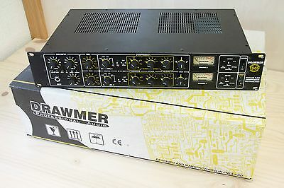Drawmer 1969 Mercenary Edition - 2 Channels Tube Mic Pre Amp and Comp - Boxed